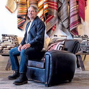 Shiprock owner Jed Foutz is a fifth-generation dealer in rare Native American textiles and artefacts