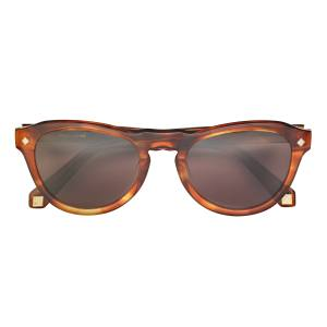Hardy Amies limited-edition Warwick sunglasses with titanium details, £240. Also in other colours