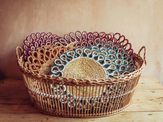 Traditional basketry, £100-£300, by Jenny Crisp