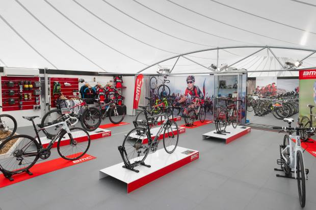 The state-of-the-art cycle centre has two new electric suspension bikes