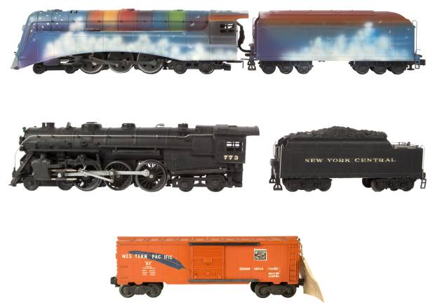 At the heart of the sale are more than 200 lots from Neil Young's model railway collection