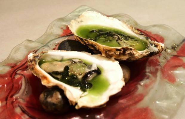 Delicacies include croquetas of Ibérico ham, ventresca of tuna and oysters with celery and yuzu