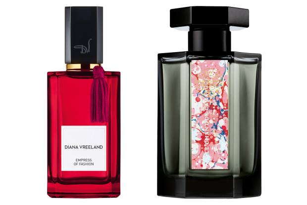Diana Vreeland Empress of Fashion, £180 (100ml), harrods.com. L'Artisan Parfumeur Le Chant de Camargue, £115 (100ml)