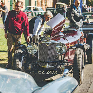 Bicester Heritage holds regular Sunday Scramble events, which bring together lovers of classic vehicles