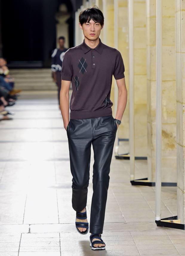 Hermès calfskin trousers, £5,980