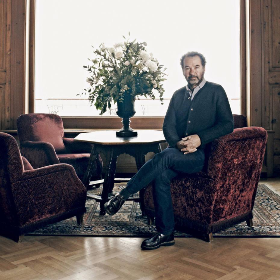 Remo Ruffini at Chesa Veglia, Badrutt's Palace hotel
