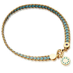 Astley Clarke bracelet in sterling silver, £95; 18ct yellow-gold vermeil, £140; 20 per cent of the sale price goes to Theirworld.