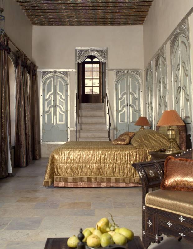 Mansouriya Palace hotel.
