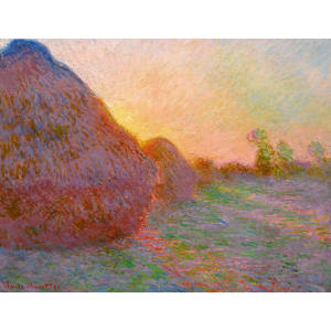 Claude Monet's Meules, executed 1890, signed and dated 1891, in excess of $55m