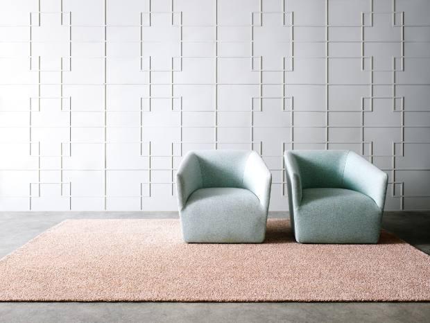Kasthall wool/linen Gry rug, £465 per sqm