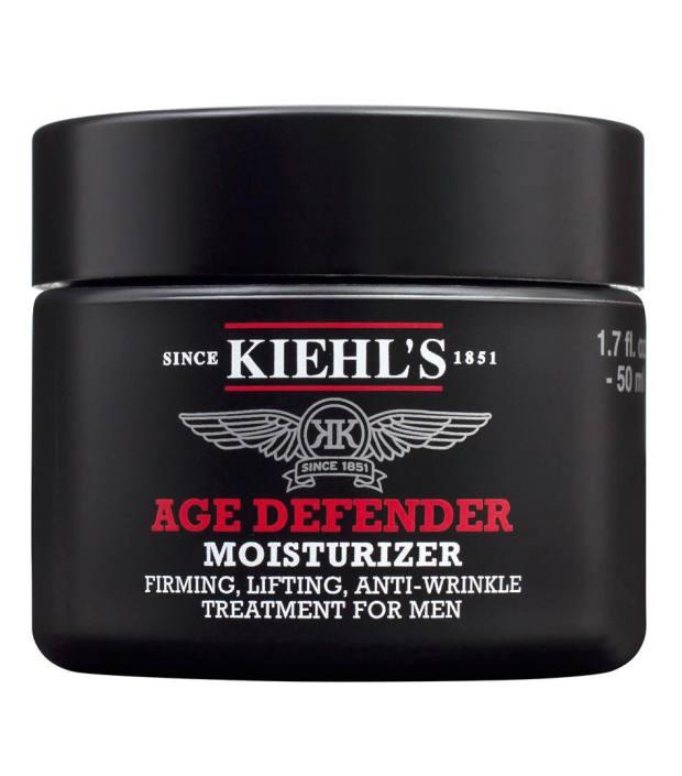 Kiehl's moisturiser, Marlow's grooming staple