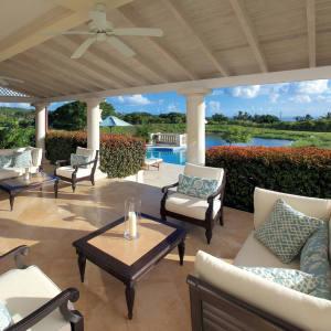 The seven-bedroom Ocean Retreat villa on the Royal Westmoreland estate, Barbados, $4,950,000.