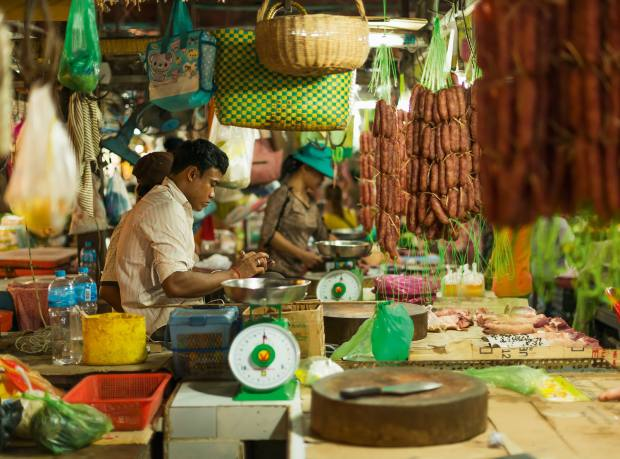 Siem Reap's market