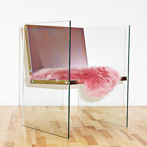 Fredrik Paulsen glass and steel chair, €2,500