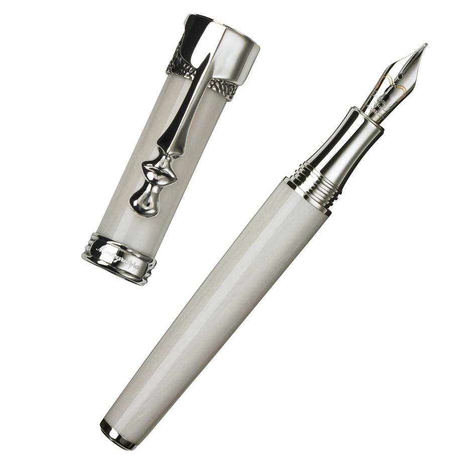 Montegrappa Salvador Dalí Surrealista fountain pen with sterling-silver trim, £2,160. Also in gold and as rollerball