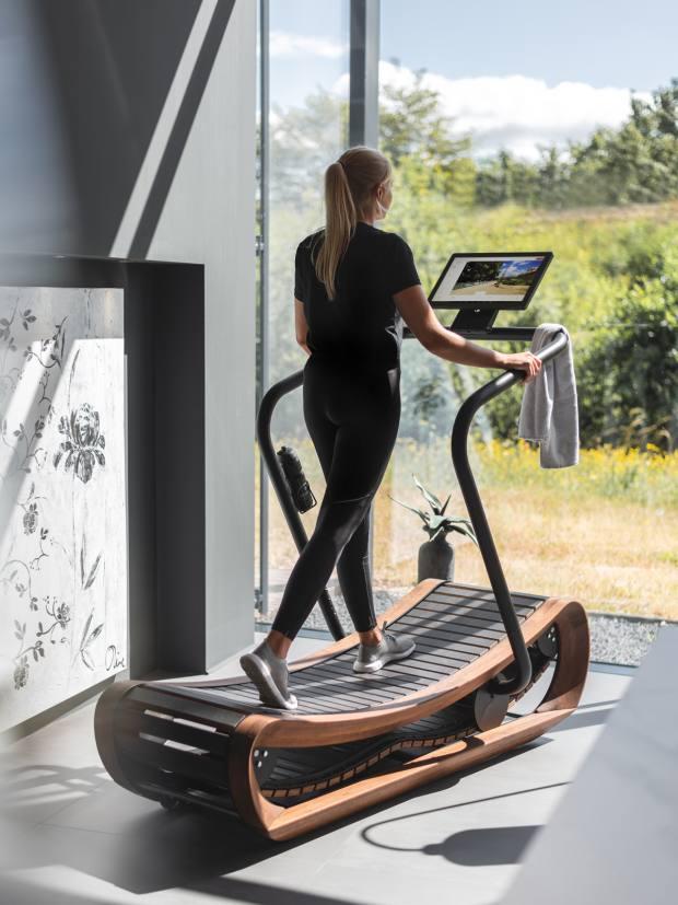 NOHrD SprintBok Curved Manual Treadmill, £6,095, conranshop.co.uk