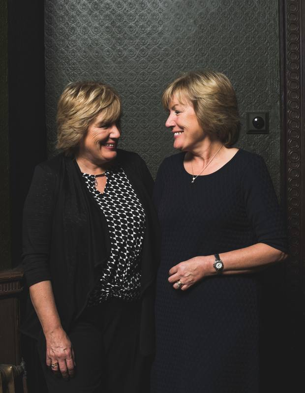 Meet Bette Elton and Kathleen Cope, the twins who have worked together at the brand's Gloucester factory since 1964