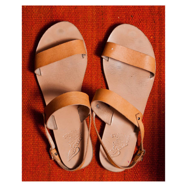 Small's Ancient Greek Sandals Clio sandals, €120