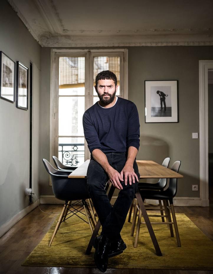 Alexandre Mattiussi at home in Paris