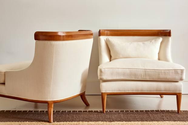 Duane Modern Centre lounge chairs, $3,500 each