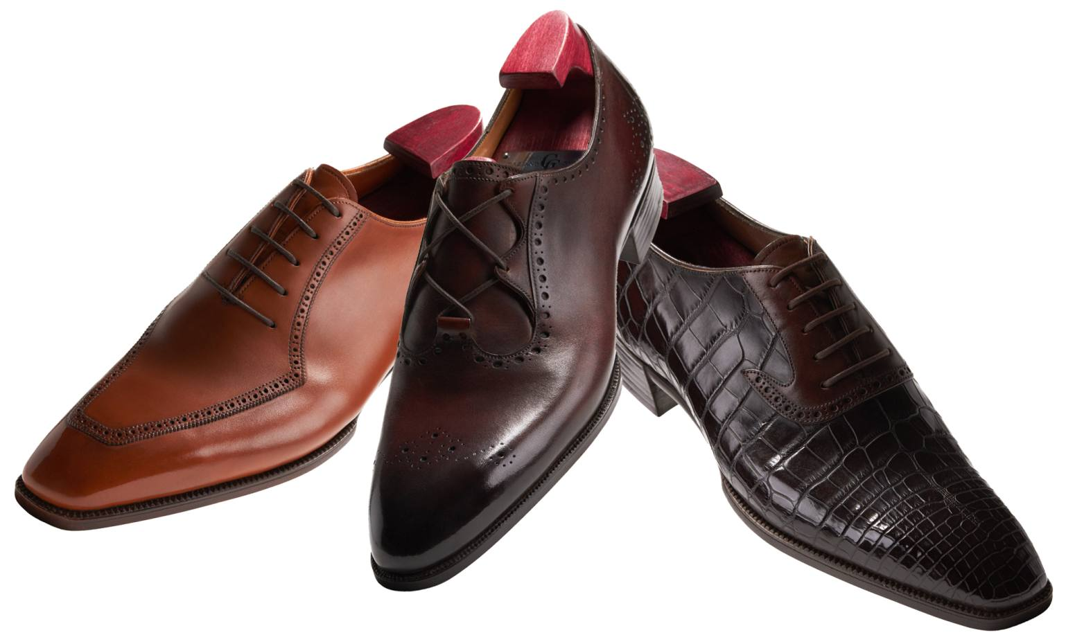A first bespoke pair of Gaziano & Girling shoes will take around 12 months to produce for a client from an initial fitting