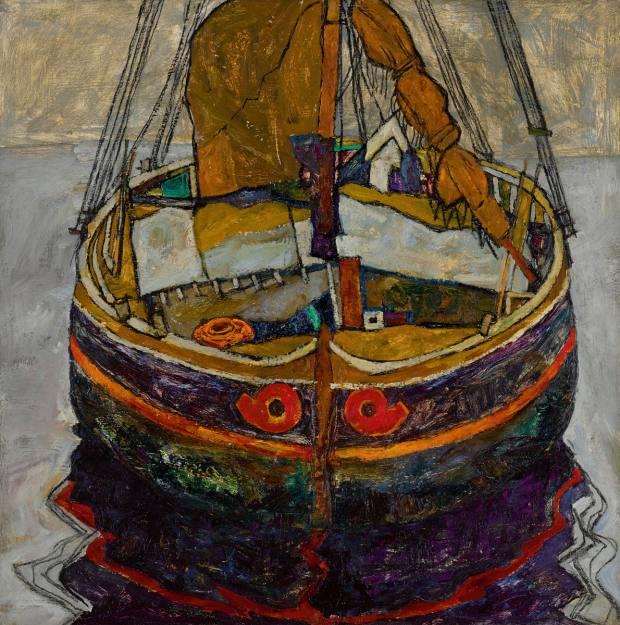 Triestiner Fischerboot (Trieste Fishing Boat) by Egon Schiele, estimated at £6m-£8m