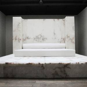 Alabaster Bed from a Rick Owens limited-edition series of three, from ¤230,000.