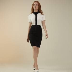 Flair Atelier No 200 dress with shirt-style top, £400