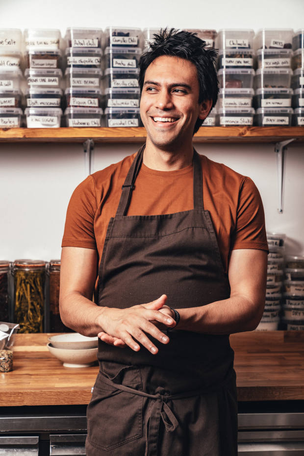 Chef Santiago Lastra of Kol, a new Mexican restaurant due to open in London in early 2020