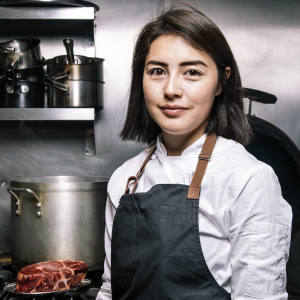 Singapore-born chef Elizabeth Haigh of Kaizen House kicks off the club's guest chef events