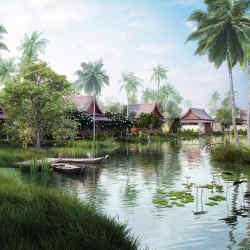 Lawan Village at The Sanchaya, Bintan Island, Indonesia