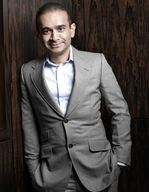 The eponymous founder of Nirav Modi