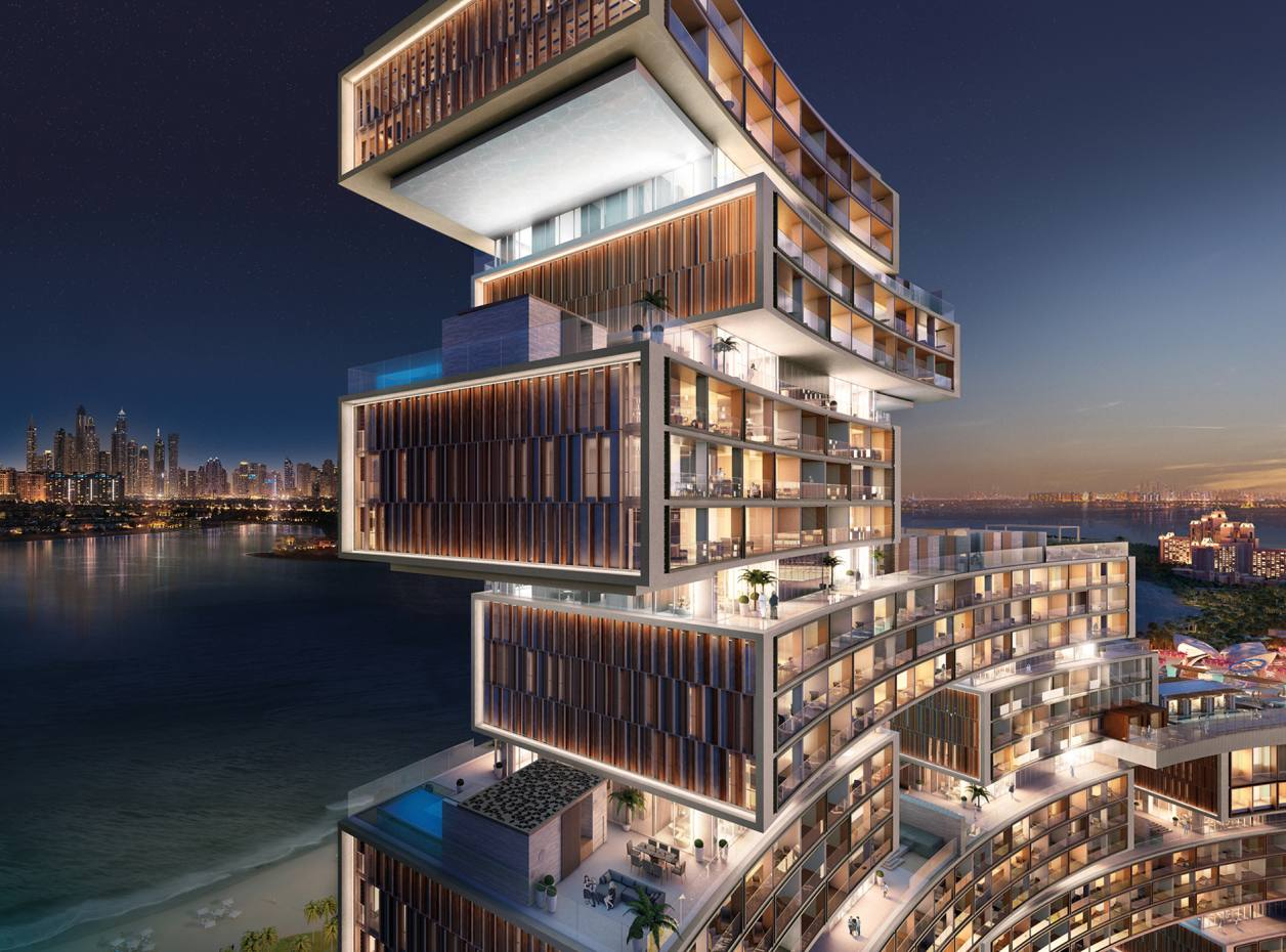 The 231 apartments at Dubai's Royal Atlantis Resort & Residences are expected to start from £1.35m