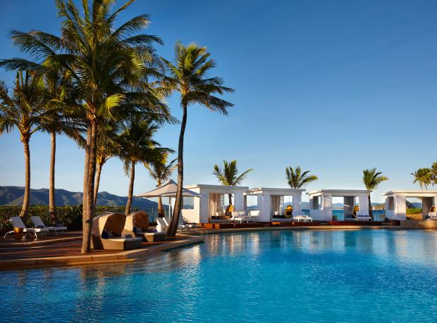 Pool complex at the One&Only Hayman Island resort