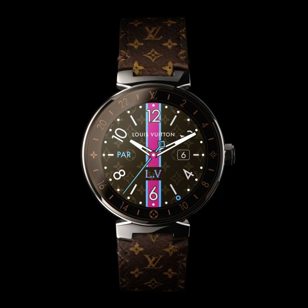Montblanc stainless-steel Summit smartwatches on leather strap, £765, now available with special London skyline dial