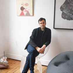 Paul Cocksedge at home in London