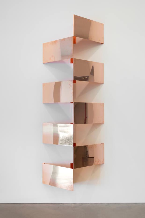 Copper Surrogates (2018) by Walead Beshty