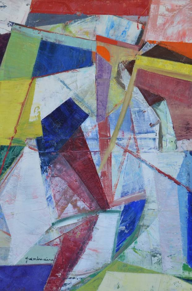 Composition, 1960 by Luois de Grandmaison, £4,500 from LAPADA accredited dealer The Gallery