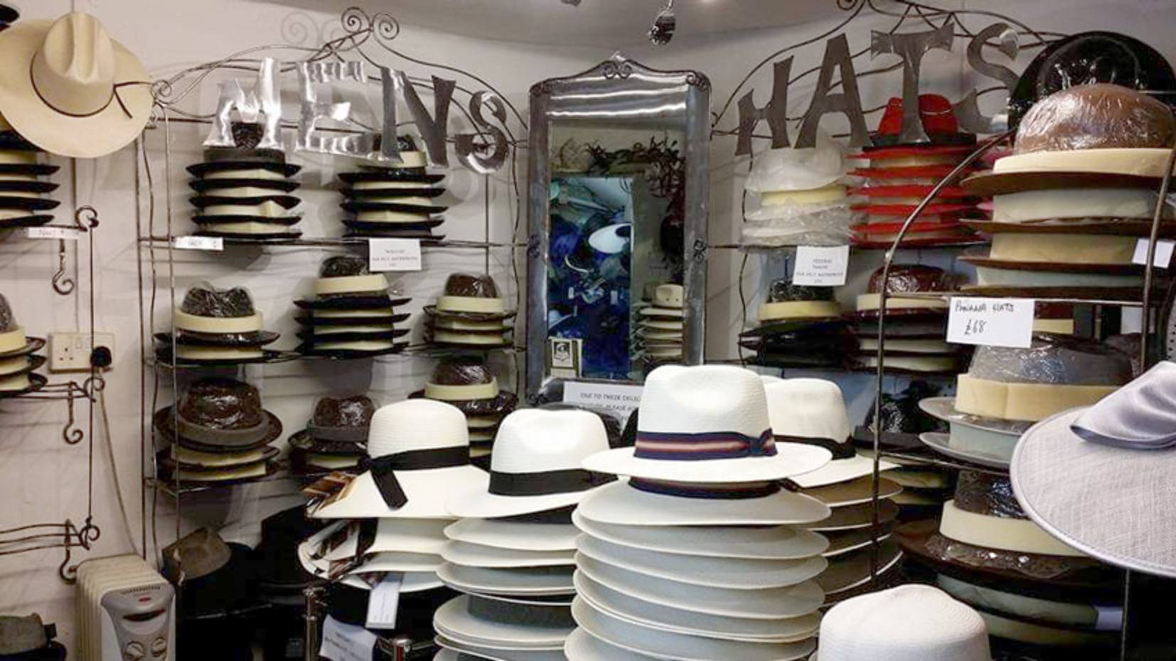 The Bath Hat Company stocks a wide range of stylish men's and women's hats