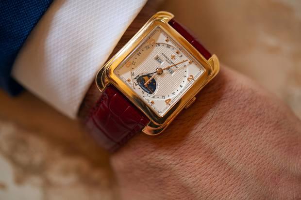 Sultana's Vacheron Constantin Toledo watch