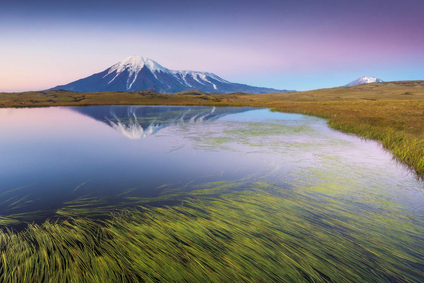 The volcanoes the Kamchatka Peninsula in the fareast of Russia, to be explored in a Natural World Safaris' expedition inAugust