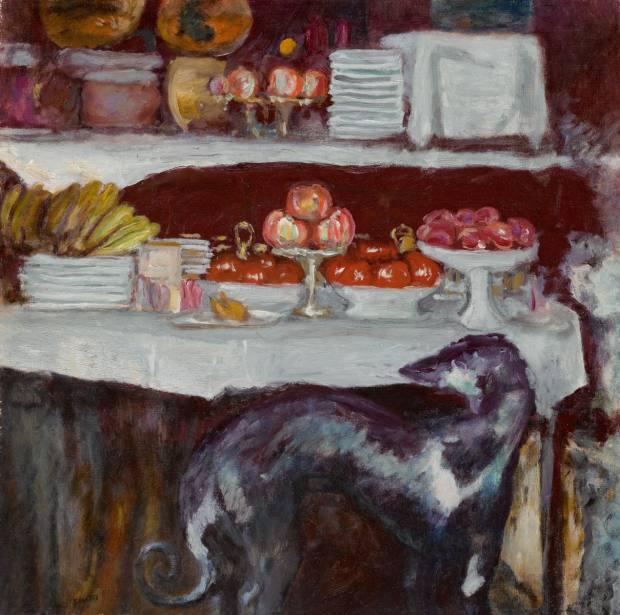 Pierre Bonnard'sNature Morte à la Levrette, c1923,$2m-$3m