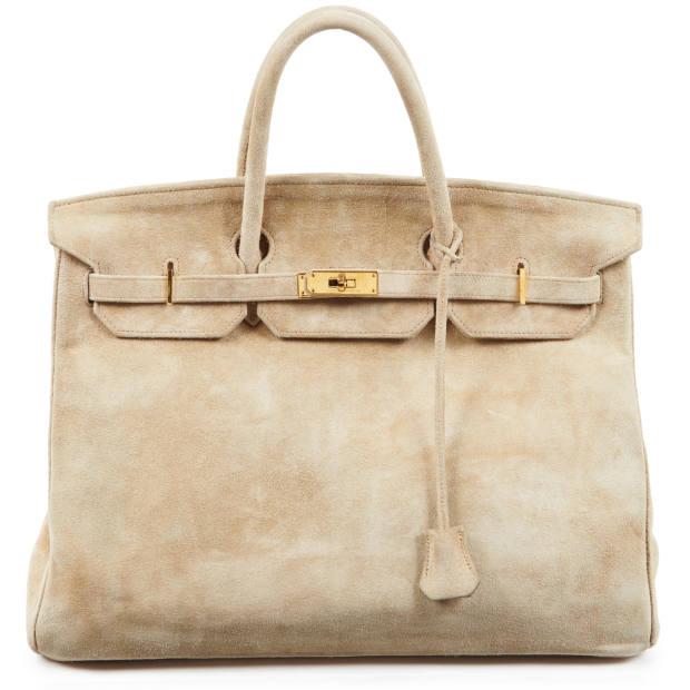1986 Hermès Birkin bag in veau doblis, on sale with Artcurial (€5,000-€7,000)
