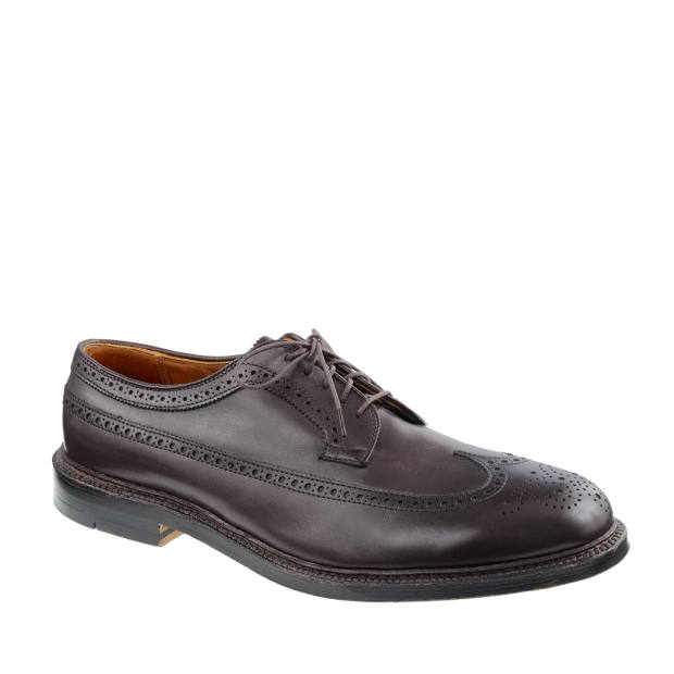 Alden for J Crew leather long-wing bluchers, £450