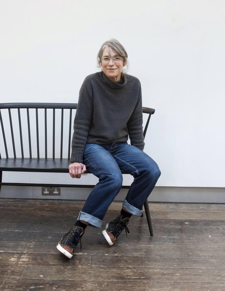 Margaret Howell at her design studio in London