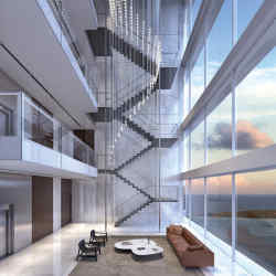 Aston Martin's first foray intoproperty is a steeland glass tower inMiami offering waterfront apartments and penthouses, from $700,000 to $50m