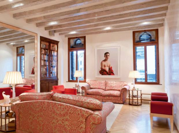 A two-bedroom apartment in the historic Palazzo Tron, Venice, €2.2m through Knight Frank