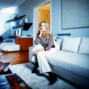 Natalia Vodianova at home in Paris