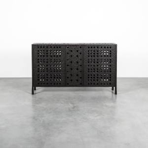 Blackened Buffet Cisco side cabinet, from €175,000