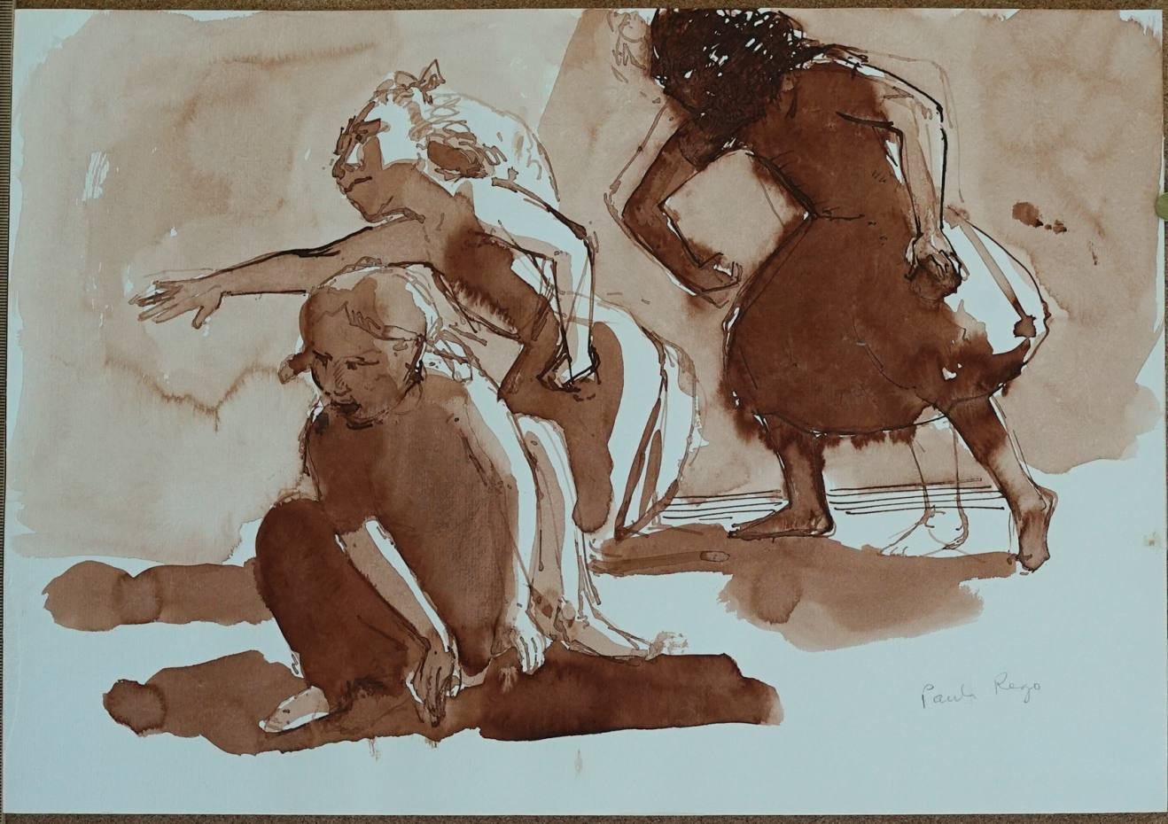 Drawing of Three Girls, 1987. The collection is priced from £15,000 to £55,000